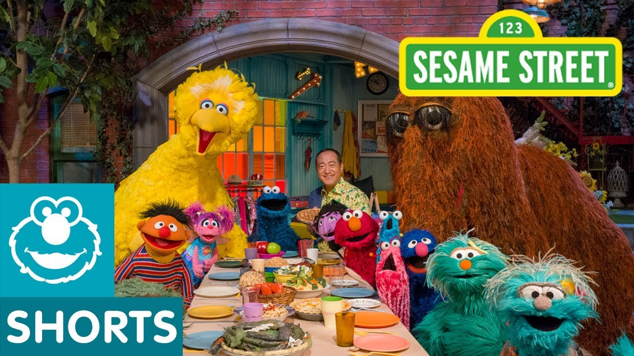 It's just a picture of Magic Sesame Street Images