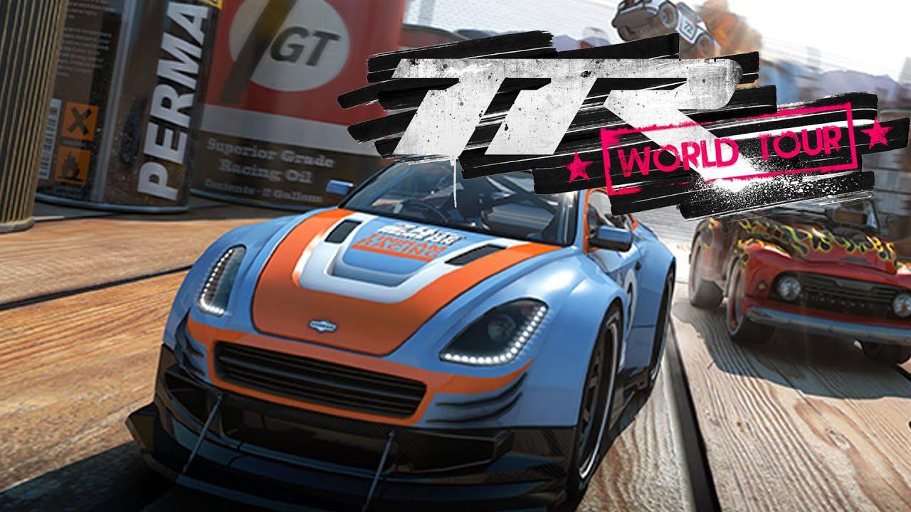 Table Top Racing: World Tour Gameplay Walkthrough - MICRO MACHINES ...