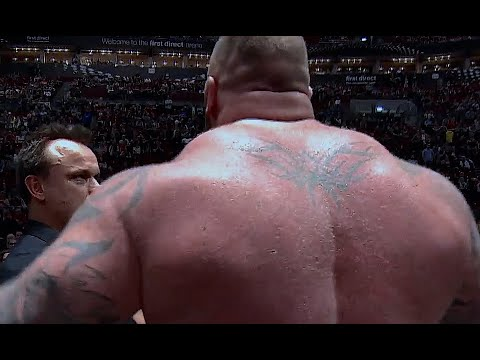 The GIANTS: Thor Bjornsson V Eddie Hall, That FAMOUS NIGHT!