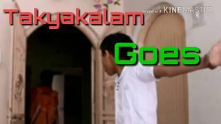 Takia kalam goes wrong