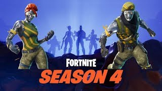Fortnite Saison 4 (25 $ PSN Giftcard !!!) Gameplay jamaïcain