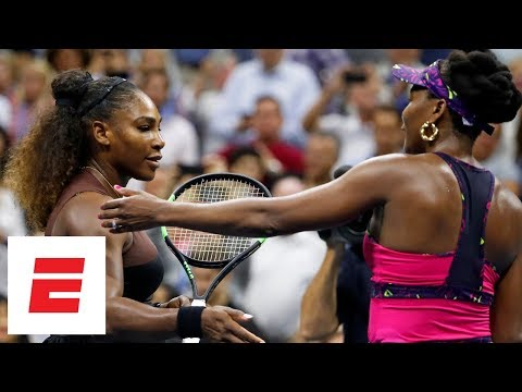 2018 US Open highlights: Serena Williams advances past her sister Venus in straight sets | ESPN