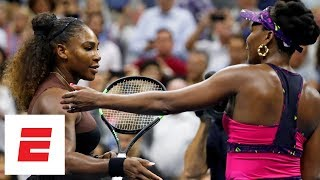 2018 US Open highlights: Serena Williams advances past her sister Venus in straight sets | ESPN Video