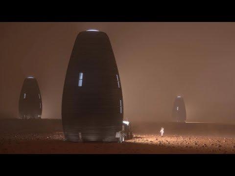 La maison martienne qui a séduit la NASA