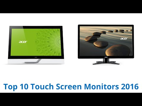 10 Best Touch Screen Monitors 2016