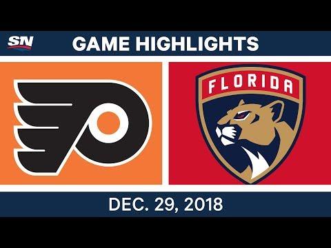 NHL Highlights | Flyers vs. Panthers - Dec 29, 2018