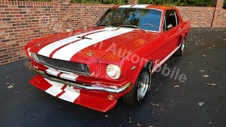1966 Mustang Coupe GT look alike for sale Old Town Automobile in Maryland