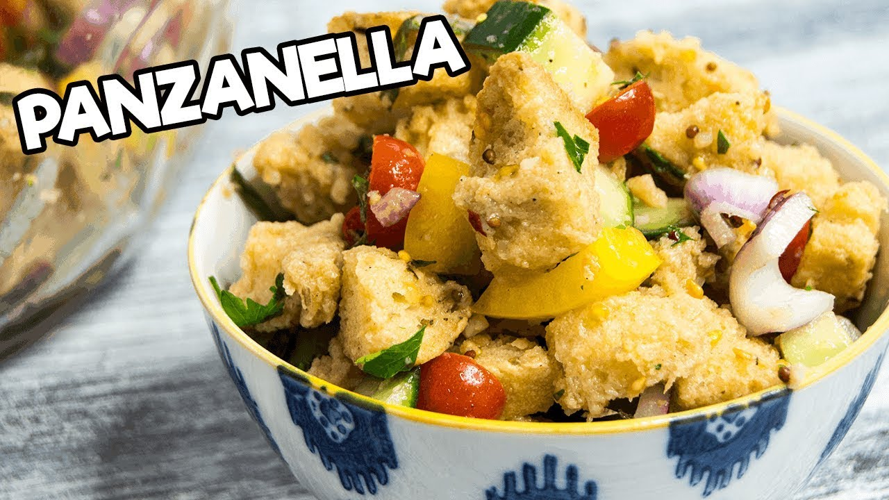 panzanella the starving chef youtube