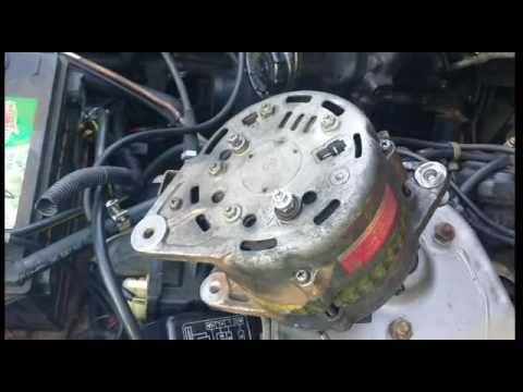 hqdefault 1983 280zx alternator install youtube 280zx alternator wiring diagram at fashall.co