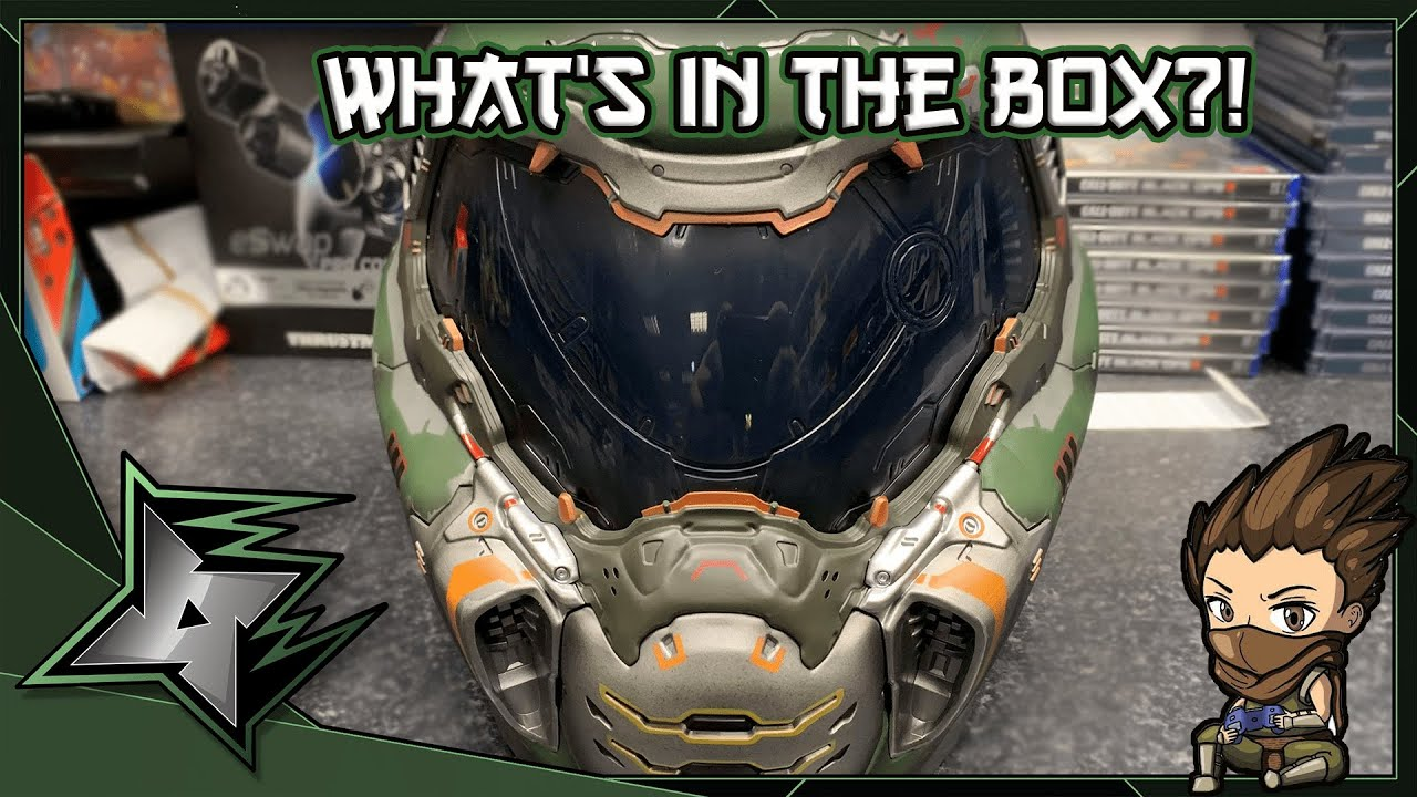 What S In The Box Special Doom Eternal Doom Slayer Helmet