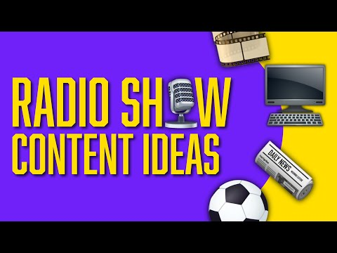 Radio Show Content Ideas | How to Make a Successful Radio Show