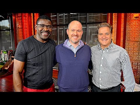 NFL Network's Michael Irvin & Steve Mariucci Join The RE Show in Studio - 3/12/18