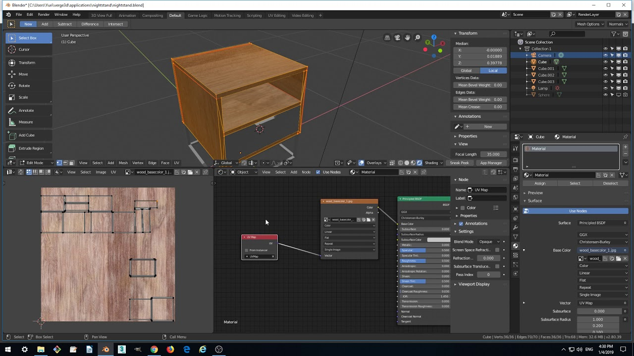 Verge3D for Blender Basics - Part 3 - Materials and HDR Environment