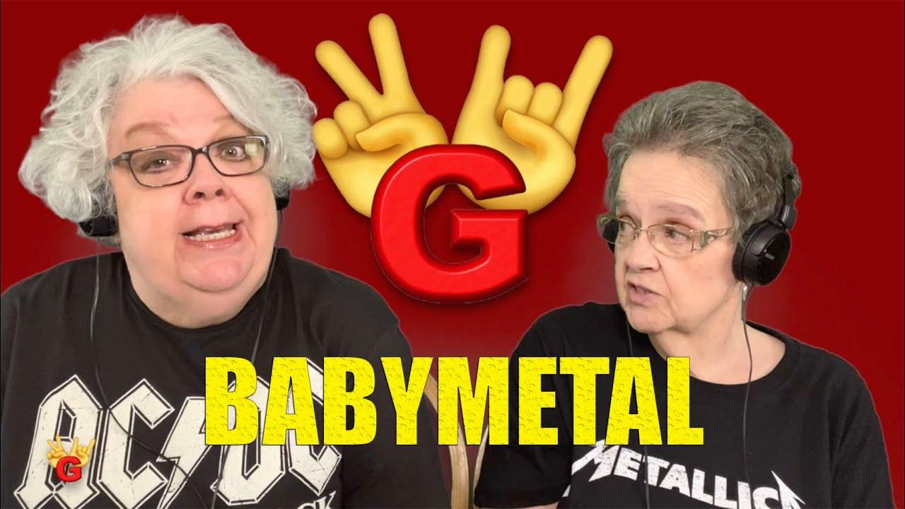 2RG - Two Rocking Grannies Reaction: BABYMETAL - GIMMIE CHOCOLATE
