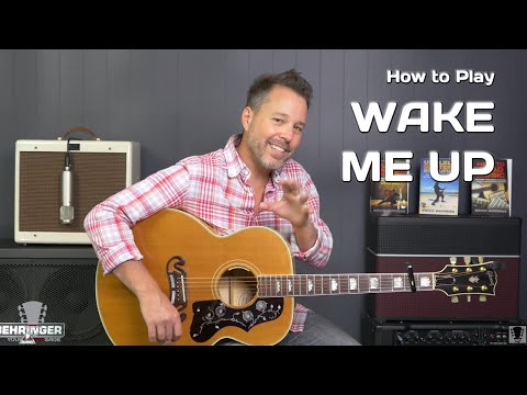 How To Play Wake Me Up by Avicii - Guitar Lesson