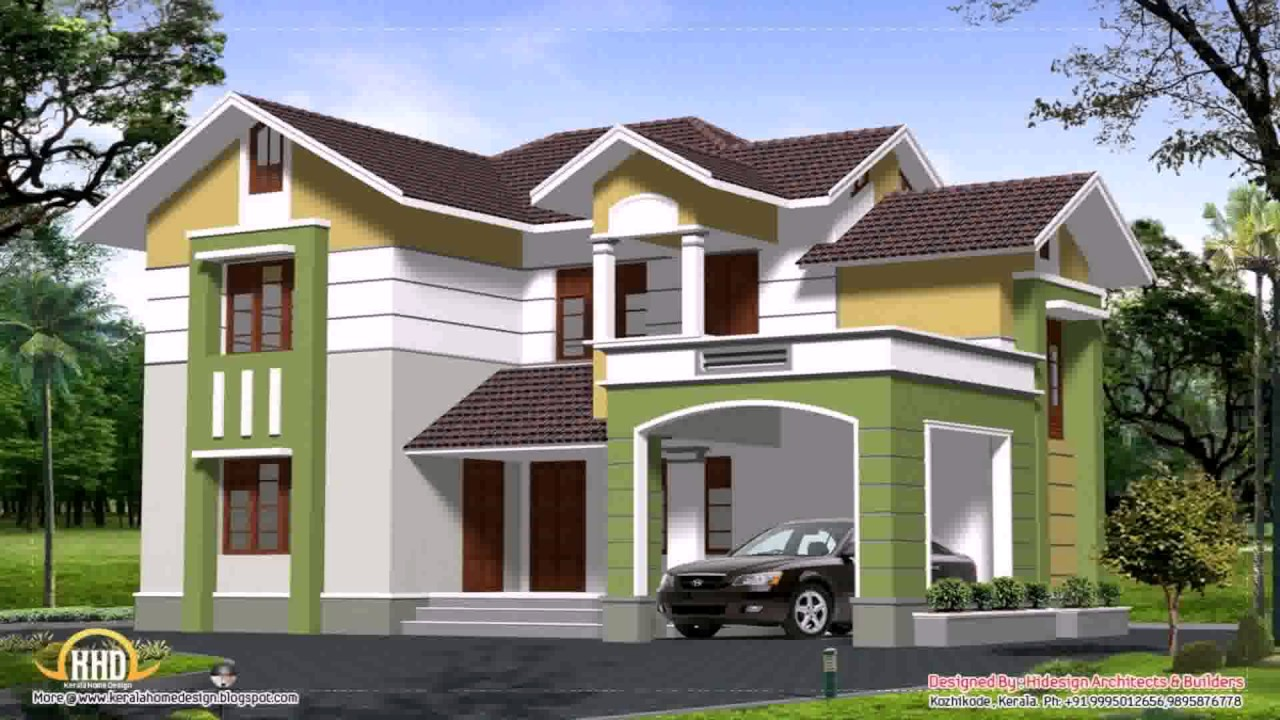 2 Storey Modern House Plans Philippines YouTube