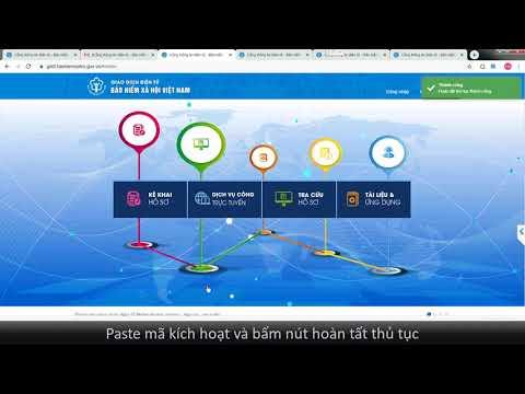 BHXH Điện tử - Hướng dẫn đăng ký giao dịch điện tử 2020