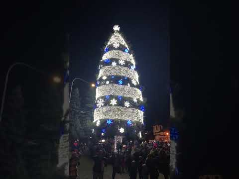 Leavenworth Christmas lighting 2018 🎄
