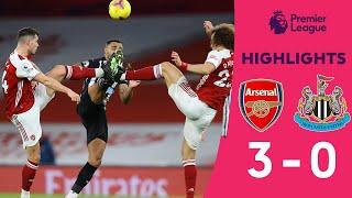 [HIGHLIGHTS] คลิปไฮไลท์การแข่งขันฟุตบอลพรีเมียร์ลีก สัปดาห์ที่ 19 อาร์เซน่อล 3-0 นิวคาสเซิล