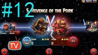 Angry Birds Star Wars 2 - Part 12 Revenge Of The Pork - Pork Side Gameplay Walkthrough