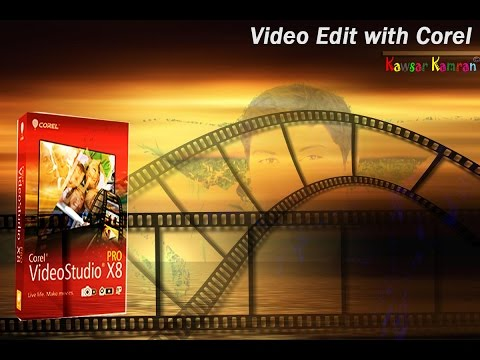 Video Editing Tutorial #1 In Bangla / Basic of Corel video studio x9