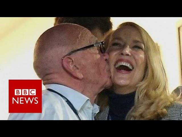 Are Rupert Murdoch and Jerry Hall the world's most influential couple? BBC News
