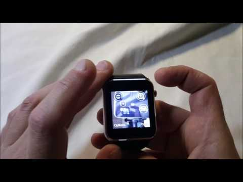 Fantime SW 08 Bluetooth Smart Watch Overview and Demo