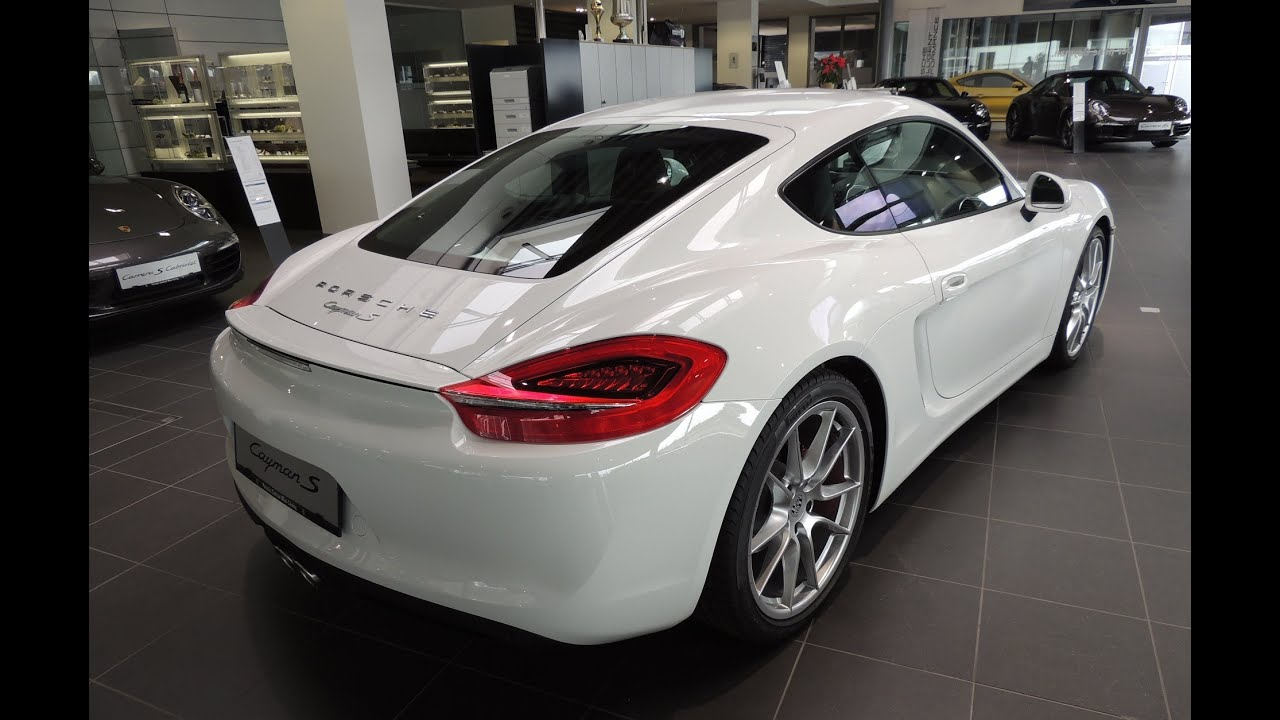 new 2013 porsche cayman s 981 white youtube. Black Bedroom Furniture Sets. Home Design Ideas