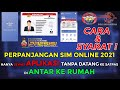 CARA & SYARAT Pendaftaran SIM ONLINE 2021, Melalui HP & Aplikasi ( SINAR )| Perpanjangan Sim A & C!