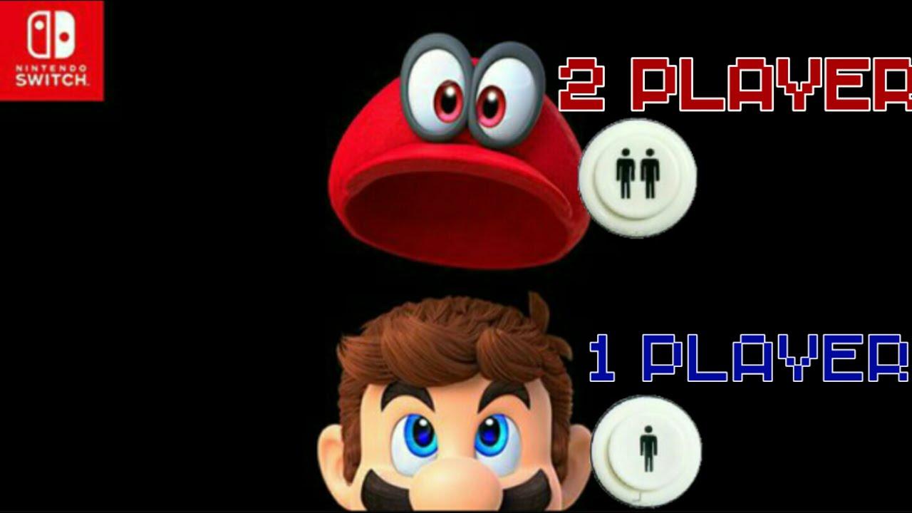 Super Mario Odyssey 2 Player Co Op