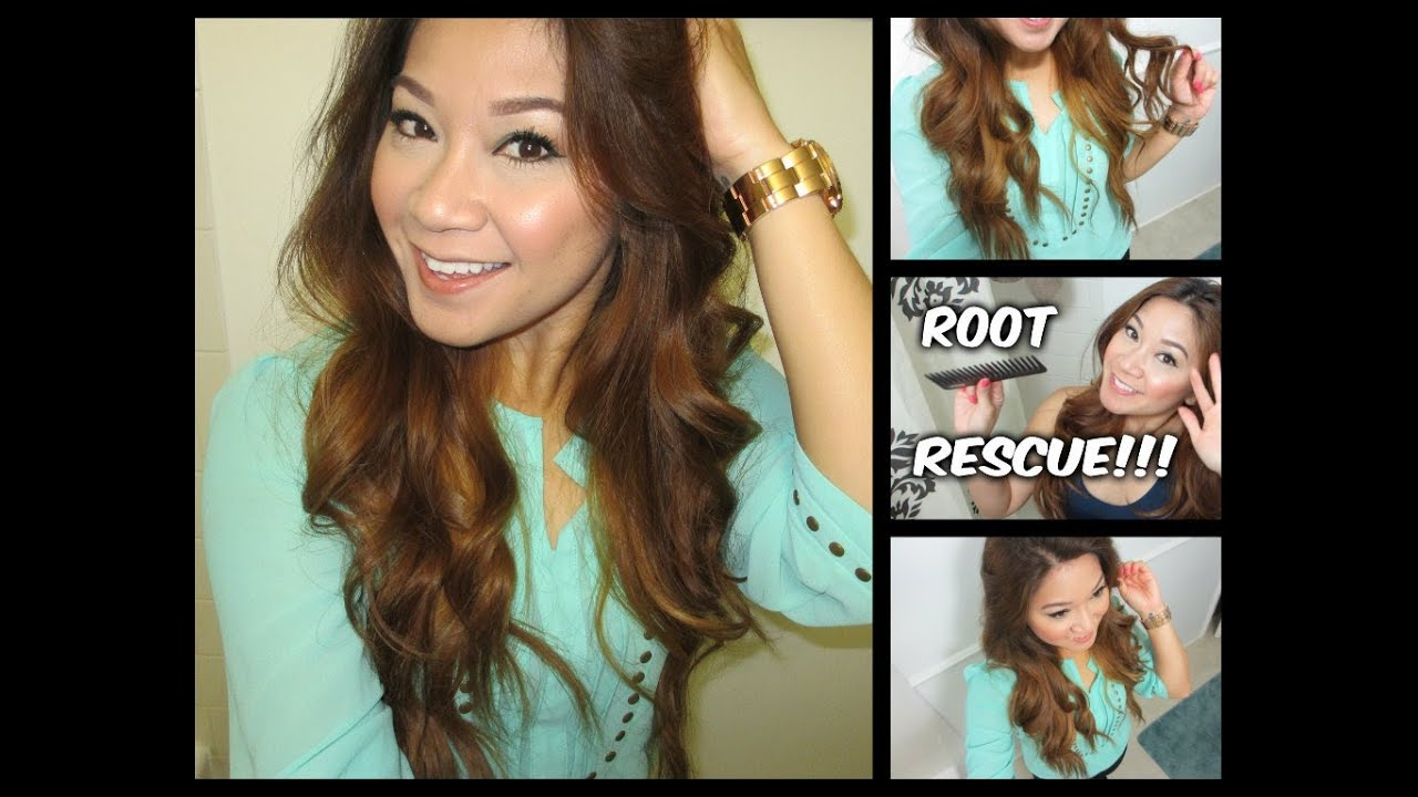 Erika S Easy At Home Root Touch Up Routine L Oreal S