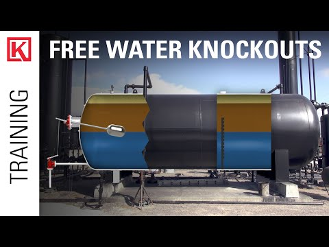 What is a Free Water Knockout (FWKO)?