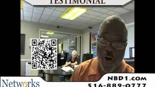 Networks by Design - Long Island Data Recovery Testimonial - Bishop Lester L Williams