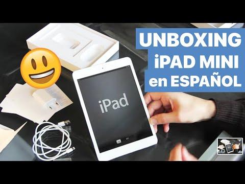 Unboxing + Configuración iPad Mini blanco en español con Smart Cover