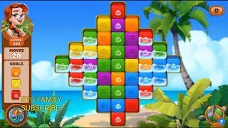 Lets play lost island mystery island adventure level 192 HD 1080P