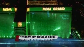 POSITIVELYLV: Crush at MGM offering Forgive Me menu