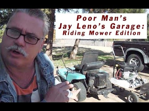 poor man 39 s jay leno 39 s garage dixon mower re power mods youtube. Black Bedroom Furniture Sets. Home Design Ideas