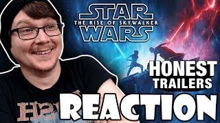 HONEST TRAILERS - STAR WARS: THE RISE OF SKYWALKER - REACTION!