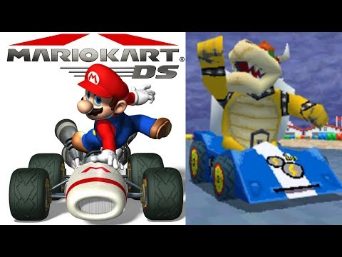 Mario Kart DS Mission Mode Playthrough Stream! All Missions