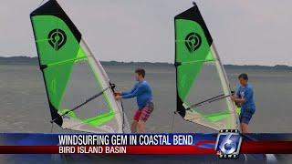 Optimal windsurfing found at Bird Island Basin