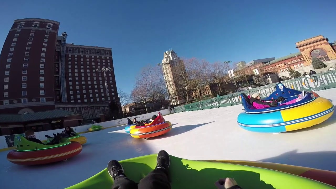 Alex And Ani City Center Providence Rink Bumper Cars On Ice In