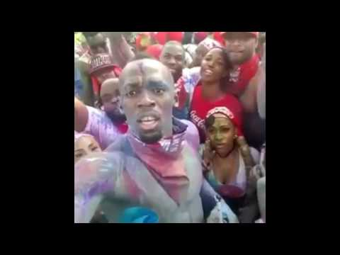 Usain Bolt At Trinidad Carnival