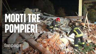 """Alessandria, Tre Vigili Del Fuoco Morti. I Testimoni Sotto Choc: """"urlavano I Nomi Dei Compagni"""""""