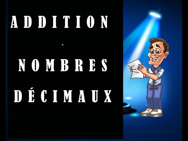 Addition de nombres décimaux - cours et exercices de maths