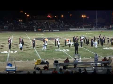 Mountain Grove High School- Halloween Halftime 2012