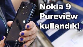 Bu telefonun 5 kamerası var: Nokia 9 PureView