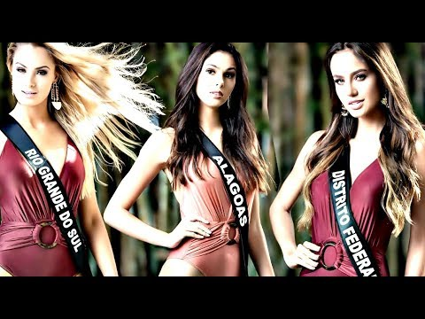 Miss Brasil 2018 FOTOS OFICIAIS & Bastidores