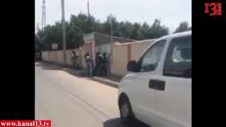 """DTX-nın əməliyyat görüntüsü:""""Silahı at təslim ol!""""-Gəncədə polisi öldürməkdə şübhəli bilinənə qarşı"""