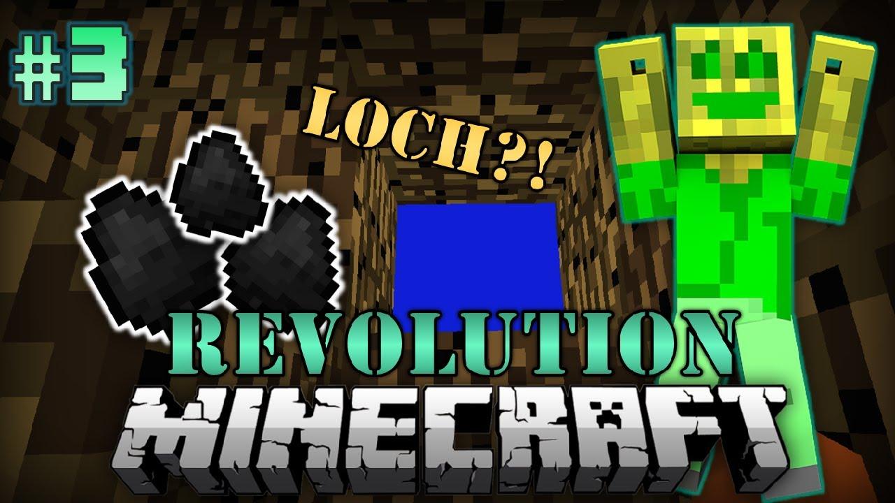 Ein LOCH Im BEDROCK Minecraft Revolution DeutschHD YouTube - Chaosflo44 skin fur minecraft pe