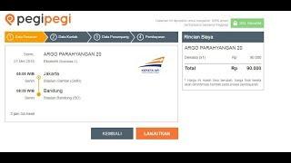 CARA MUDAH PESAN TIKET HOTEL DAN KERETA API DI APLIKASI PEGIPEGI screenshot 3
